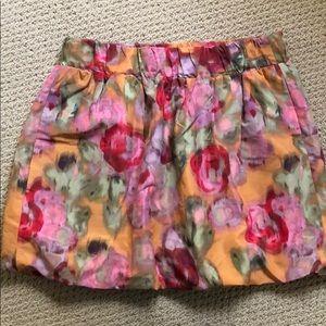 Jcrew tulip mini skirt